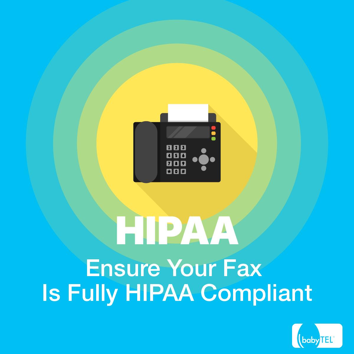 HIPAA Compliant Fax